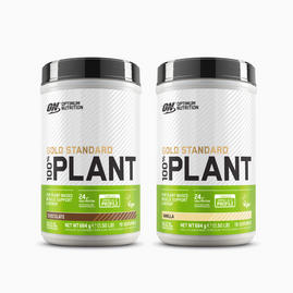 2x Gold Standard 100% Plant Based Protein