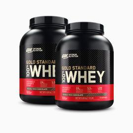 2x Gold Standard 100% Whey Protein (2270g)