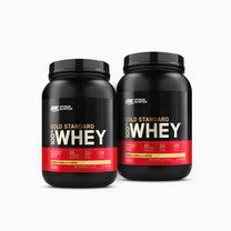 2x Gold Standard 100% Whey Protein (908g)