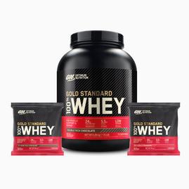 Gold Standard Whey 100% 2270g + 2 Sachets Bundle