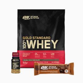Gold Standard 100% Whey (4540 g) + Shaker + Sachet