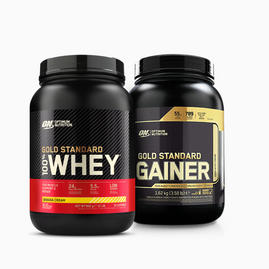 ON Gold Standard Whey + Gold Standard Gainer Bundle