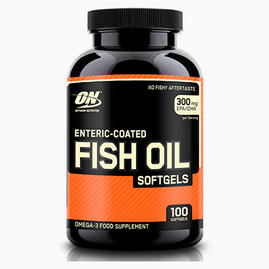 Enteric-coated Fish Oil