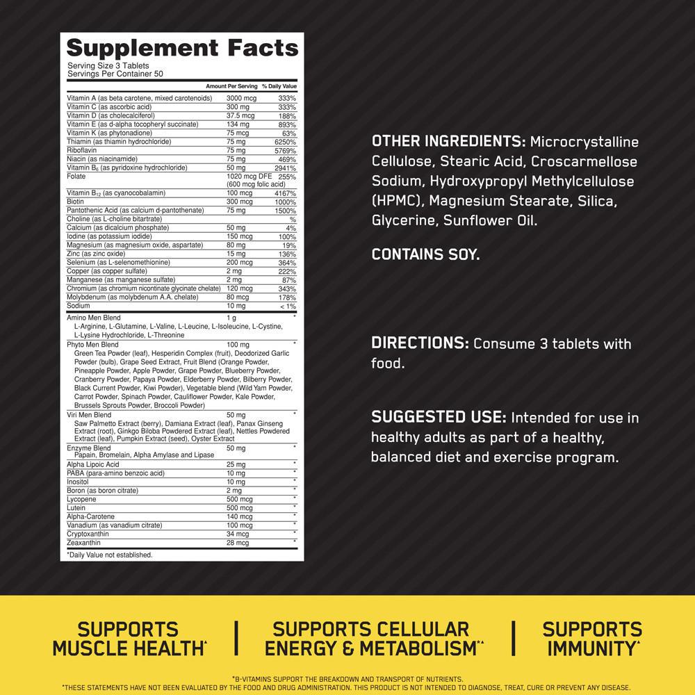 OPTI-MEN   Optimum Nutrition US